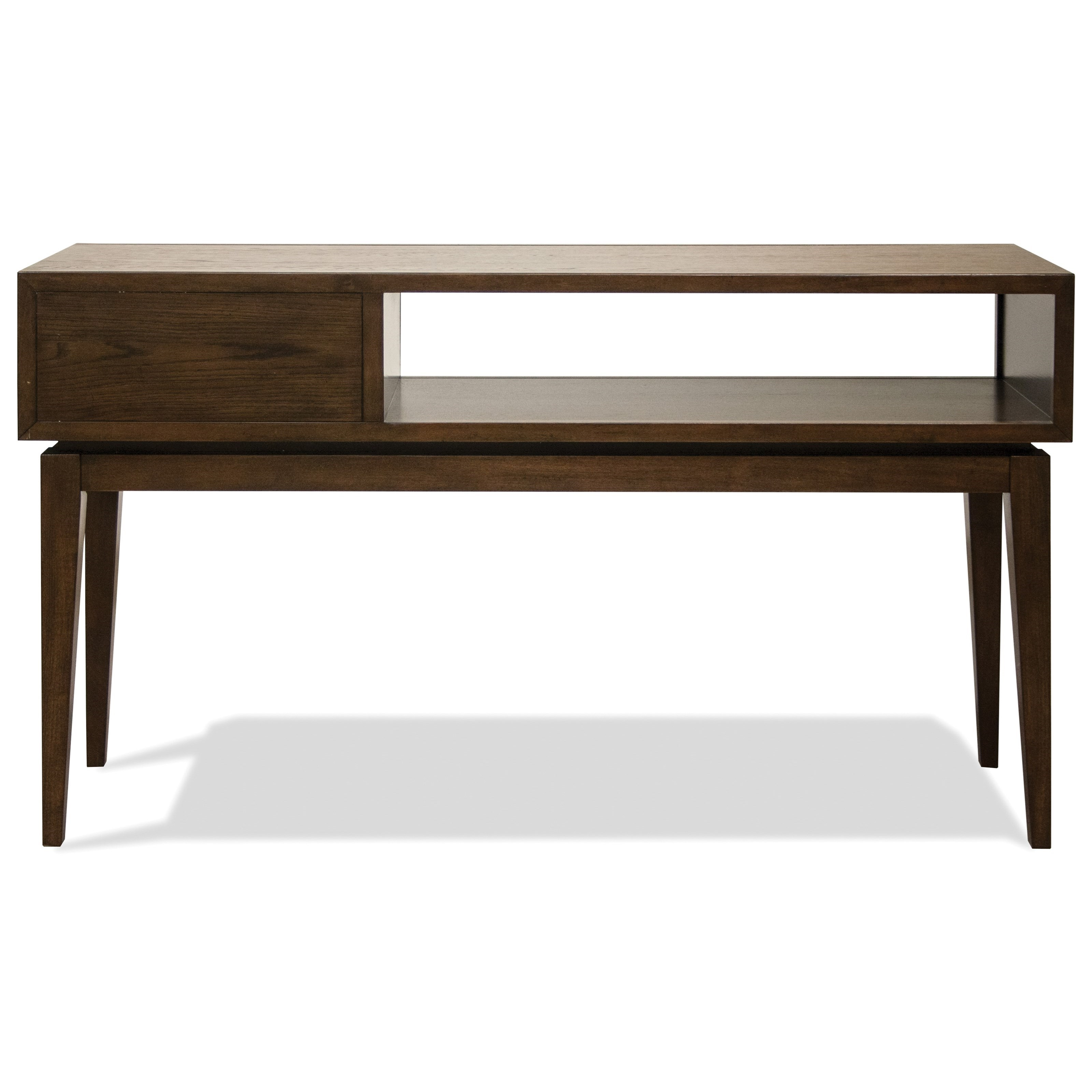 vogue chrome sofa table corner bed sale ireland riverside furniture 1 drawer console with mid
