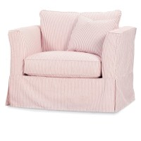 Rowe Darby Slipcovered Club Chair | Dream Home Furniture ...