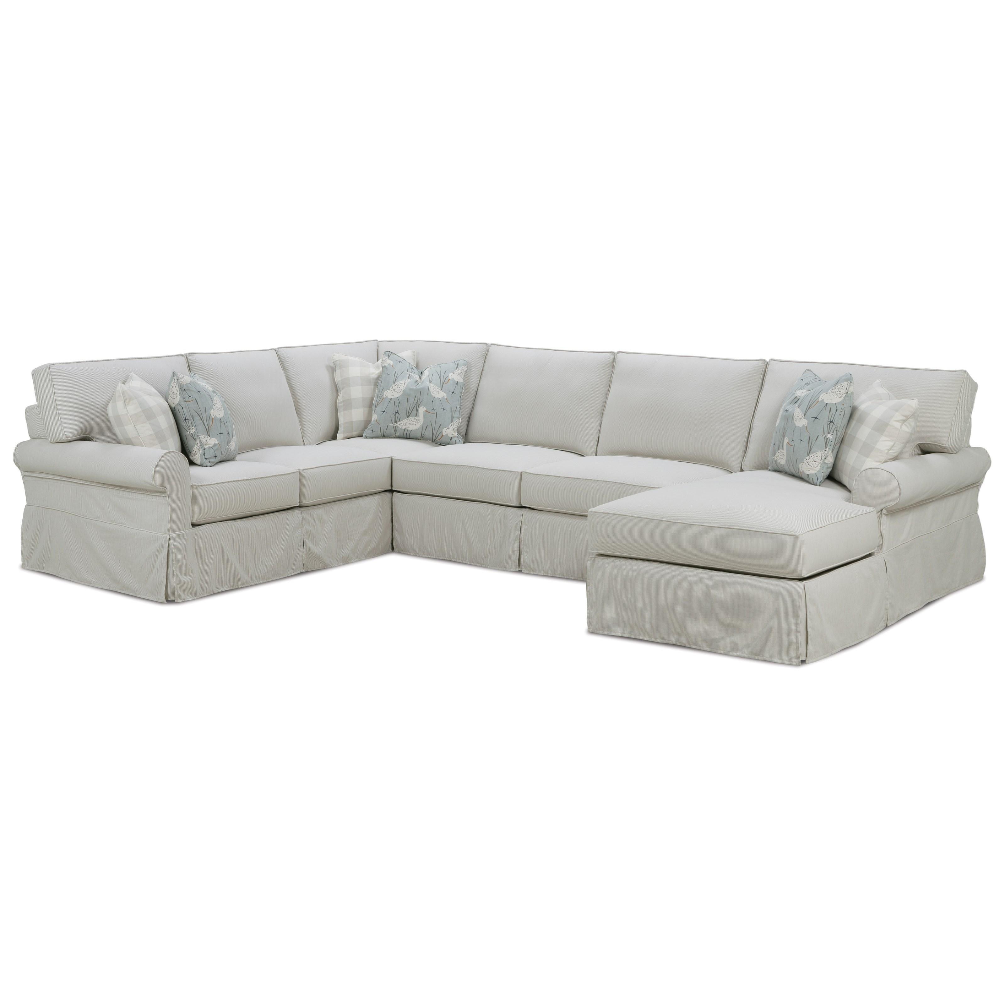 rowe slipcover sofa cheap sofas houston easton casual sectional with sprintz