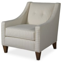 Rowe Eero Upholstered Accent Chair with Button Tufting ...