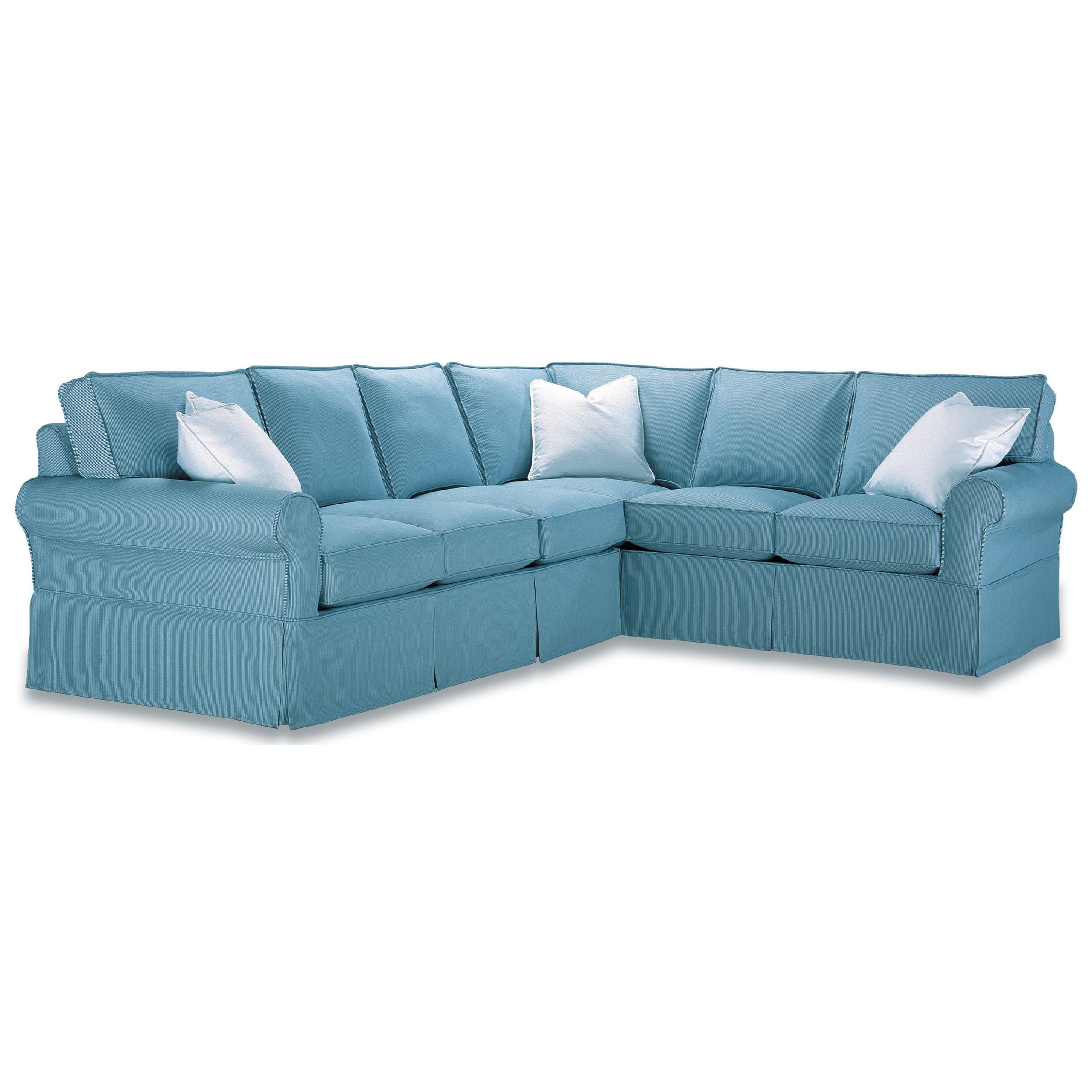 rowe masquerade sectional sofa camel back for sale casual style belfort