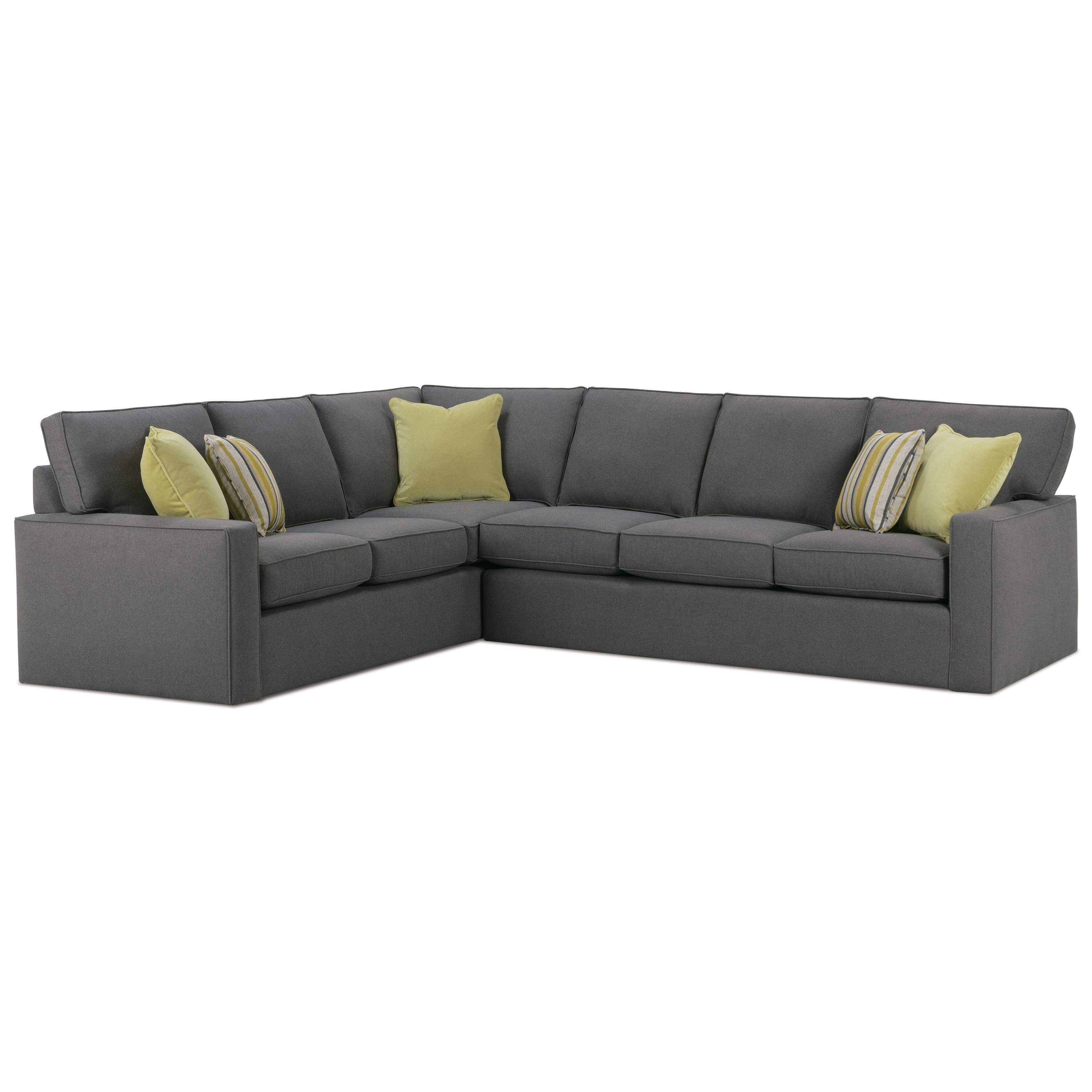 jamestown 2 piece sofa and loveseat group in gray clayton s sofas lincoln rowe monaco corner sectional ahfa