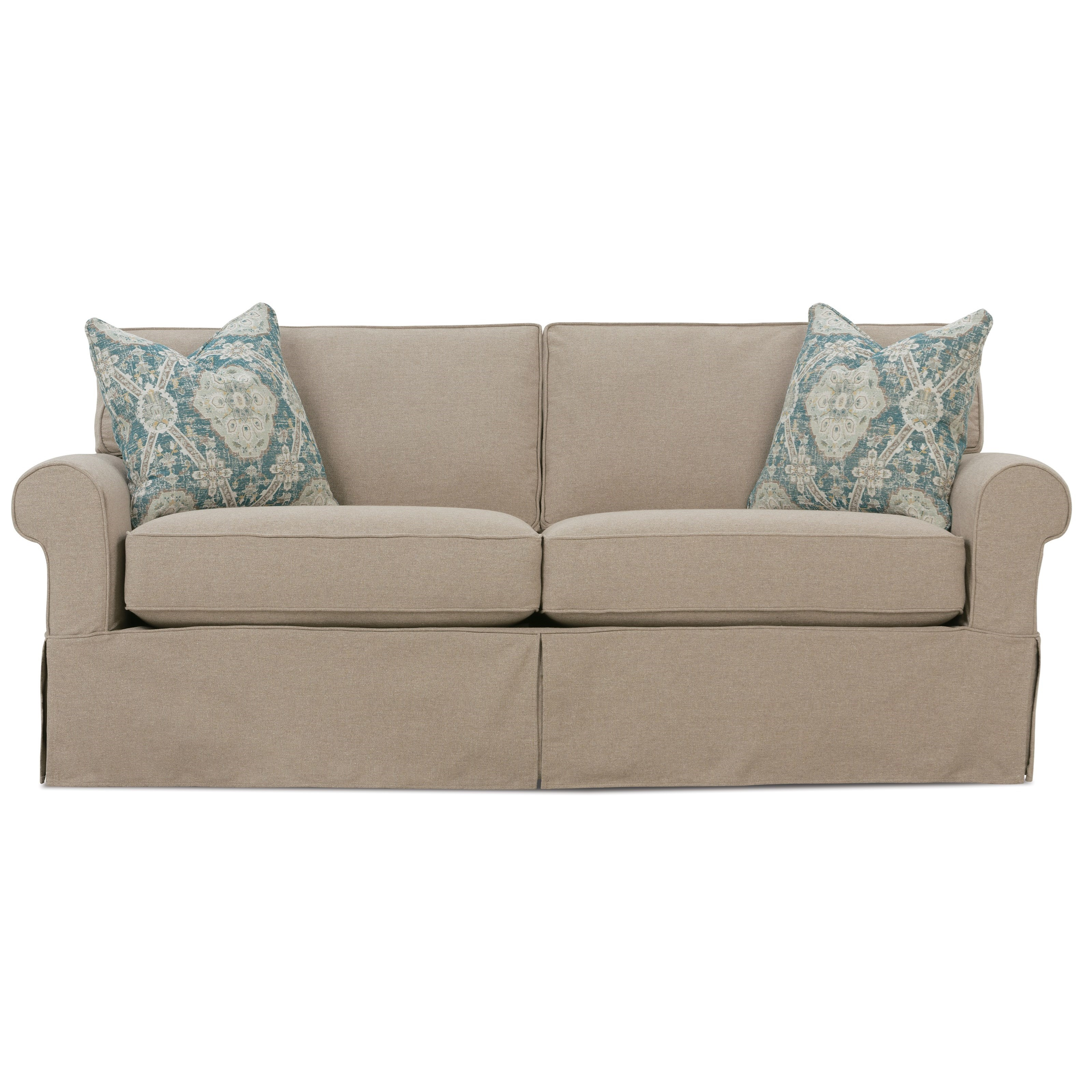 2 seater recliner sofa covers the english company uk rowe nantucket a910r 000 casual seat slipcover
