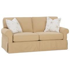 Rowe Slipcover Sofa Queen Sleeper Ikea Nantucket 78 Quot Two Cushion Belfort