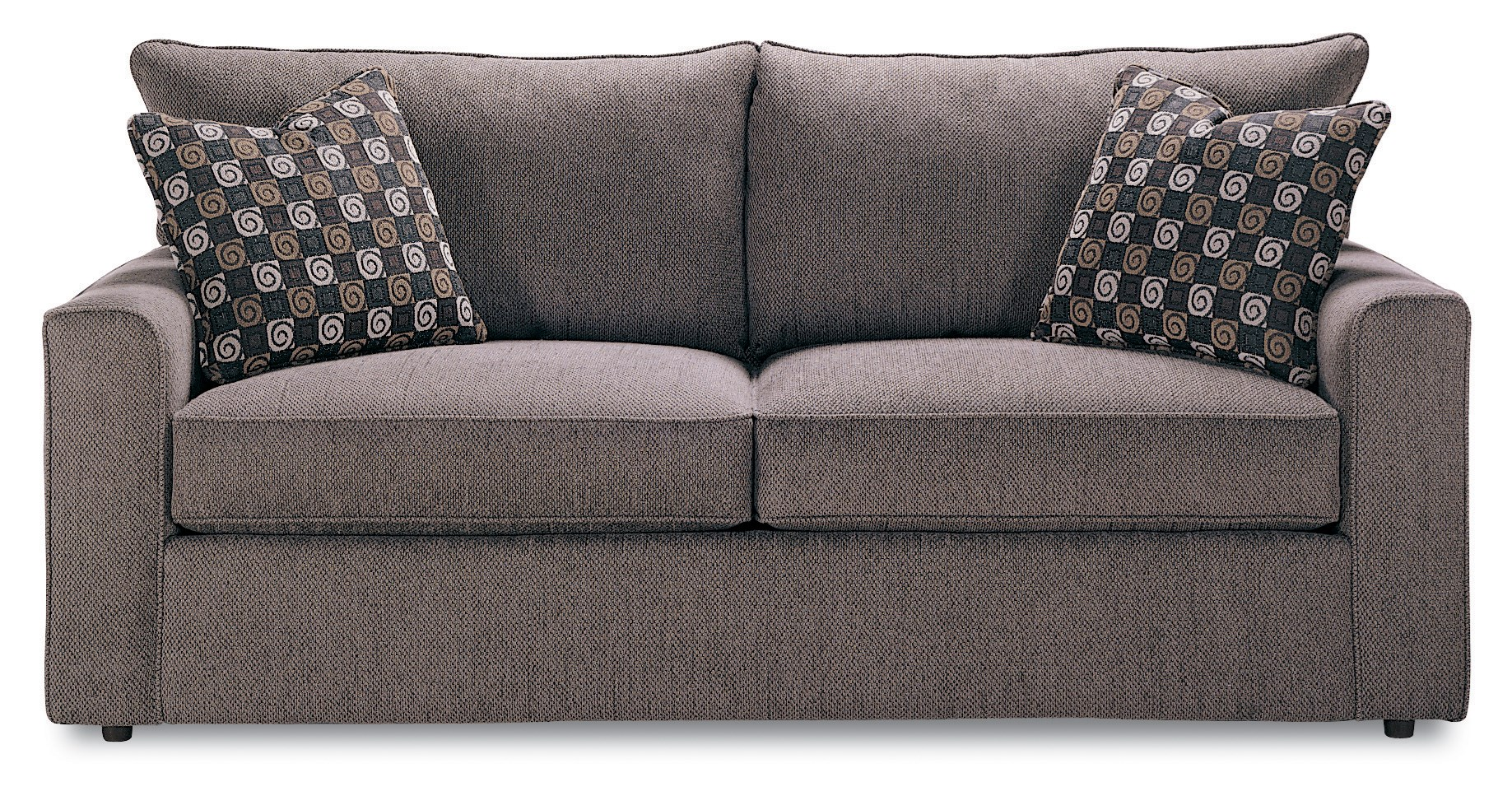 sleeper sofa bad credit rose wood set designs rowe pesci a309q 000 contemporary style queen size