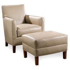 Sams Club Chairs Graco High Chair Straps Sam Moore Calvin Leather And Ottoman With Nailhead