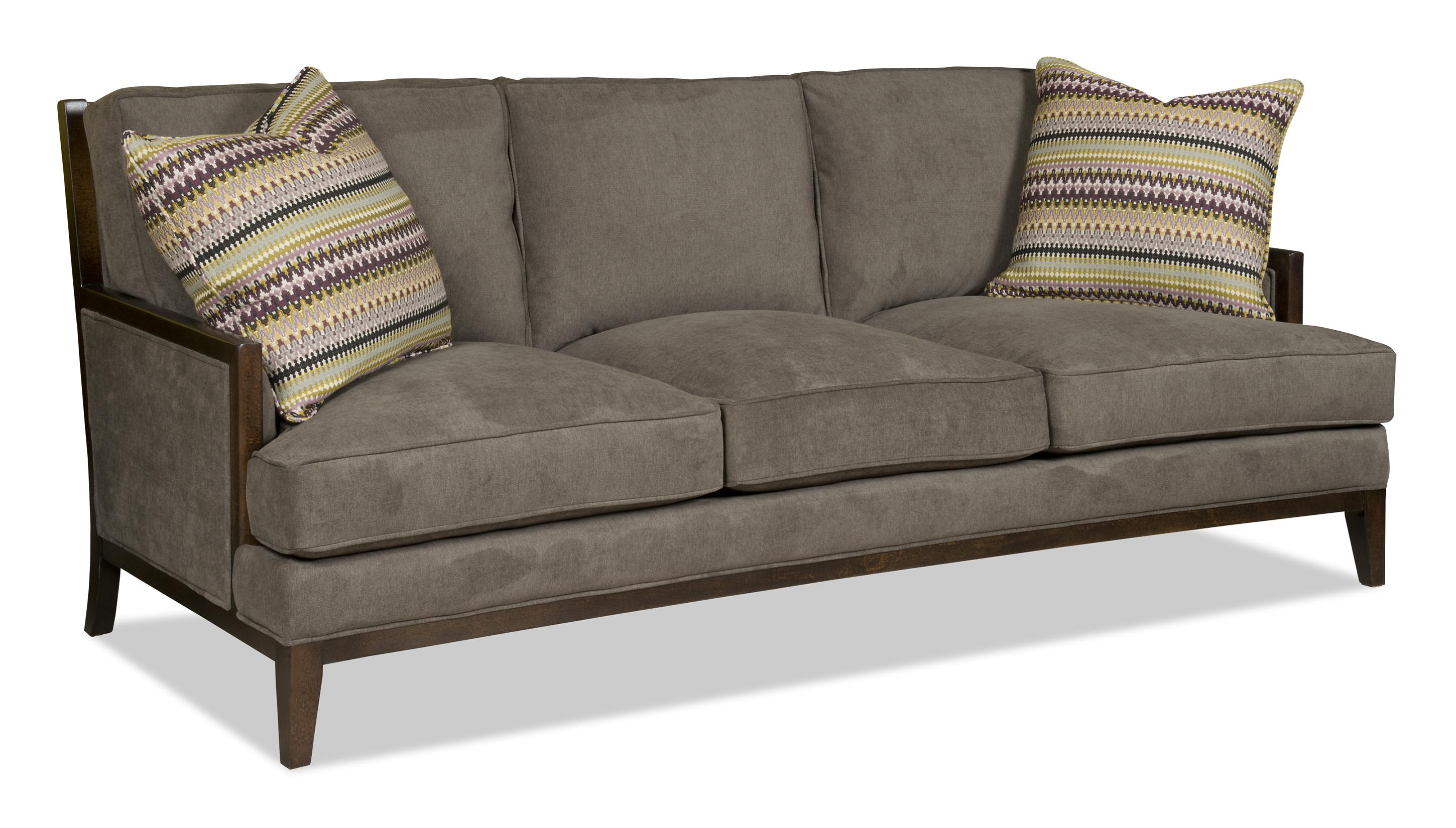 sofa wood frame exposed uk zooey family bed taraba home review