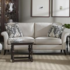 Sam Moore Carson Sofa Soho Leather Sofas Quinn Transitional Two Over