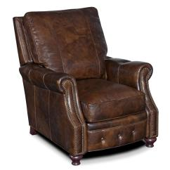Hooker Leather Chair Indoor Lounge Cushions Furniture Reclining Chairs Rc150 088 Traditional