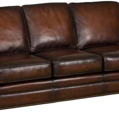Hooker Leather Chair Regency Dining Chairs Mahogany Furniture Ss186 Brown Sofa With Exposed
