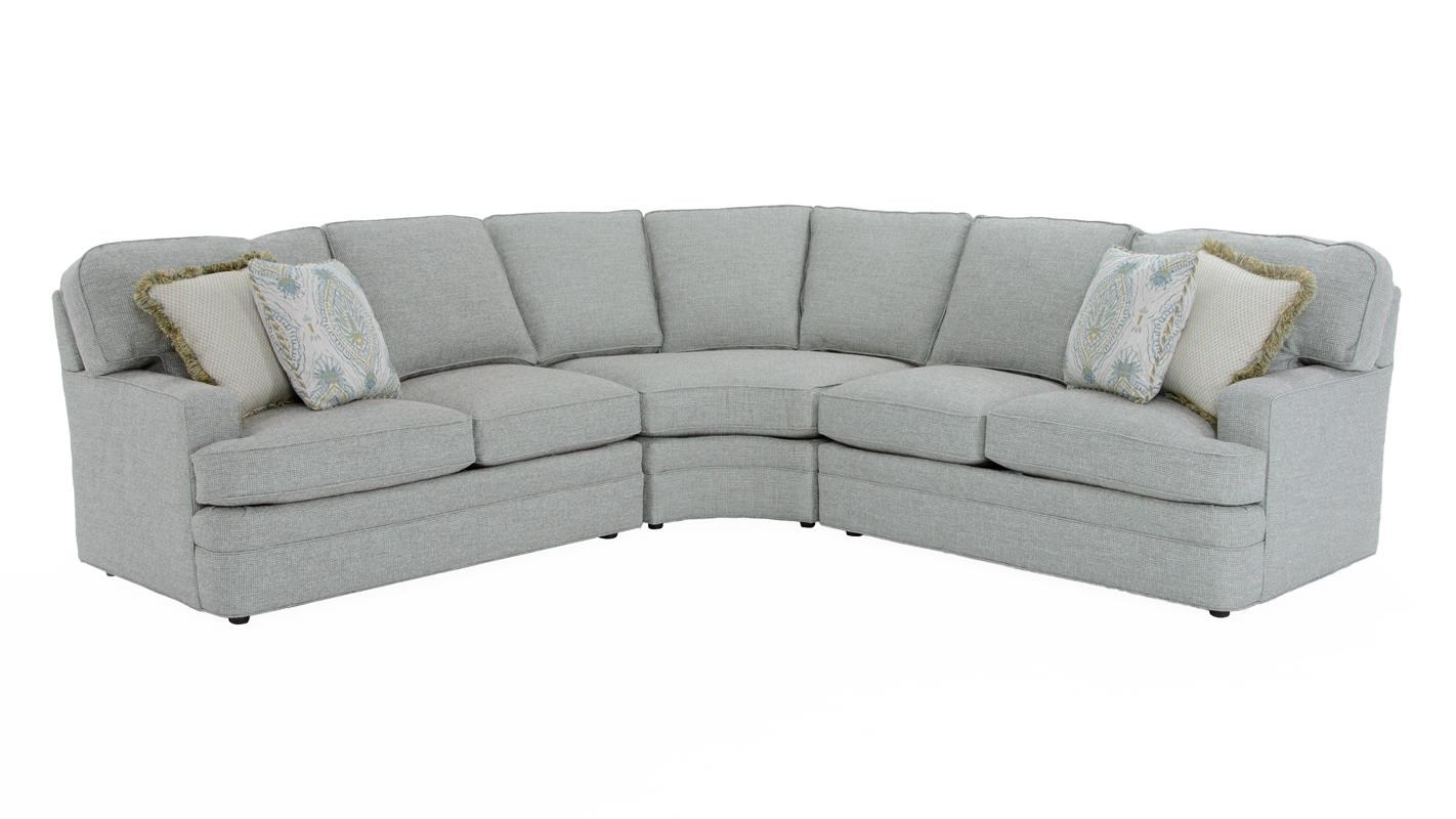 sherrill furniture sectional sofas antique wicker sleeper sofa sectionals by