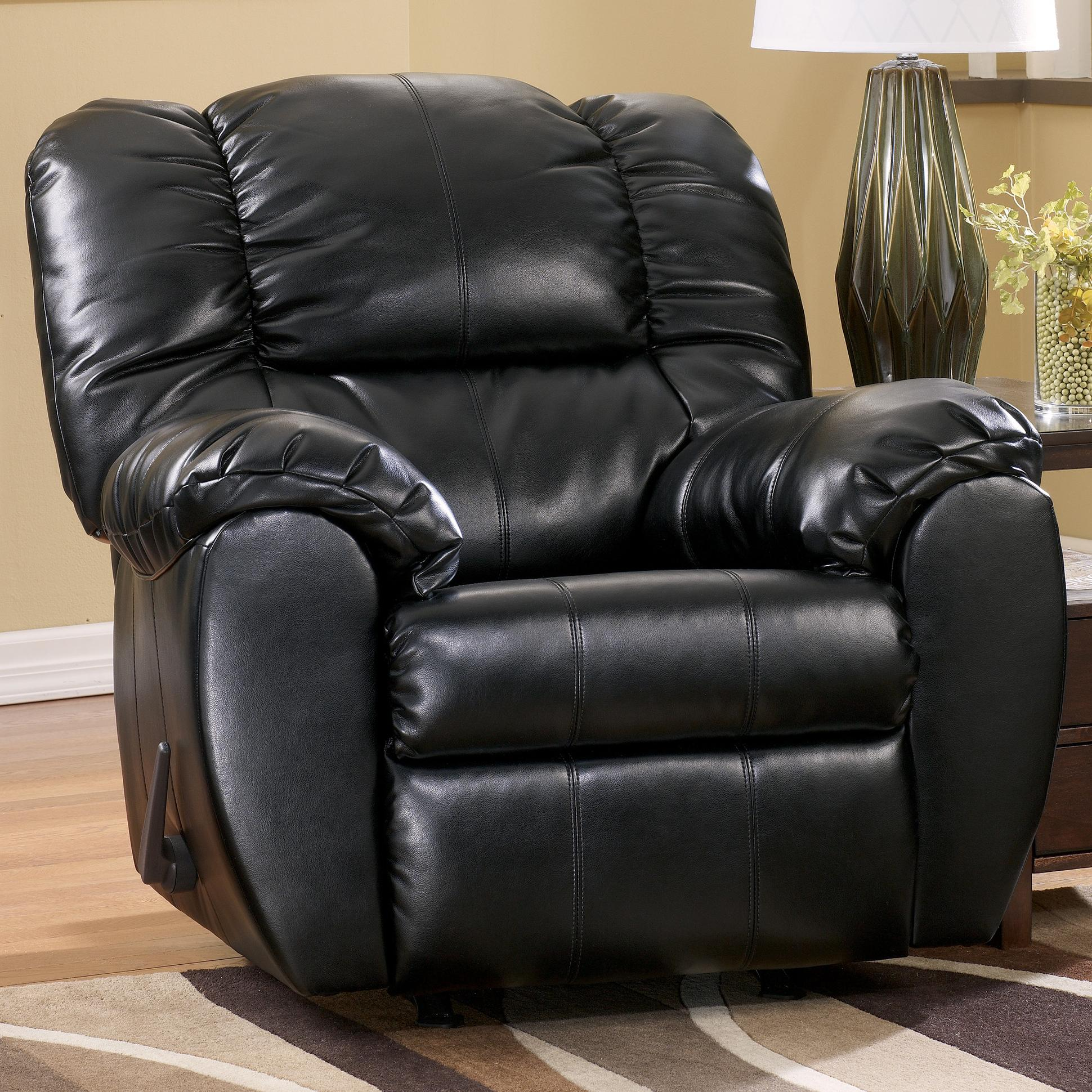 Ashley Recliner Chair Ashley Signature Design Dylan Durablend Onyx 7060425