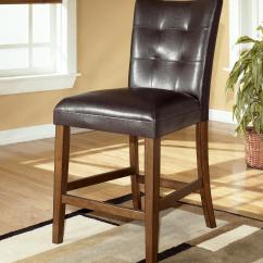 Chair Bar Stool Folding Chairs With Cushion Signature Design By Ashley Lacey D328 124 24 Quot Upholstered