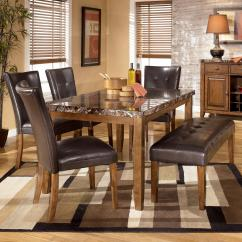 Ashley Furniture Dining Room Chairs The Chair Signature Design By Lacey 6 Piece Table With