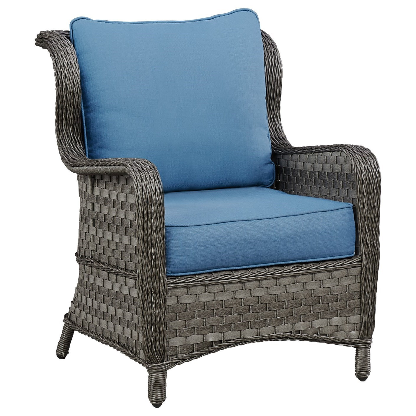 design chair outdoor velvet covers ebay signature by ashley abbots court p360 820 c