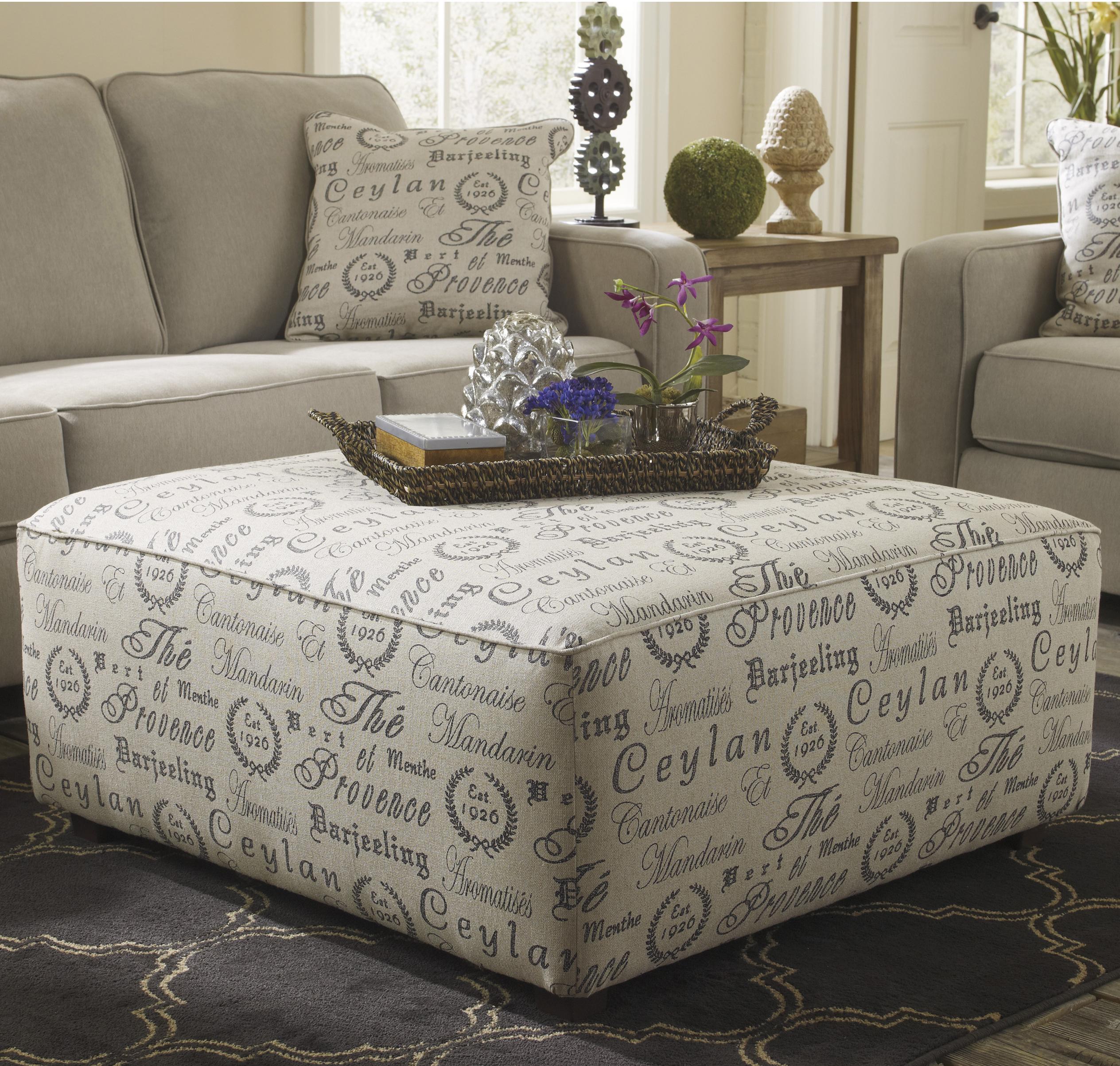 ashley chair and ottoman white bean bag signature design by alenya quartz oversized