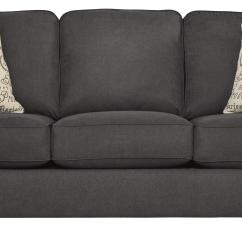 Sleeper Sofa Comparison Brown Leather Recliner Sofas Signature Design By Ashley Alyssa Charcoal 1660139