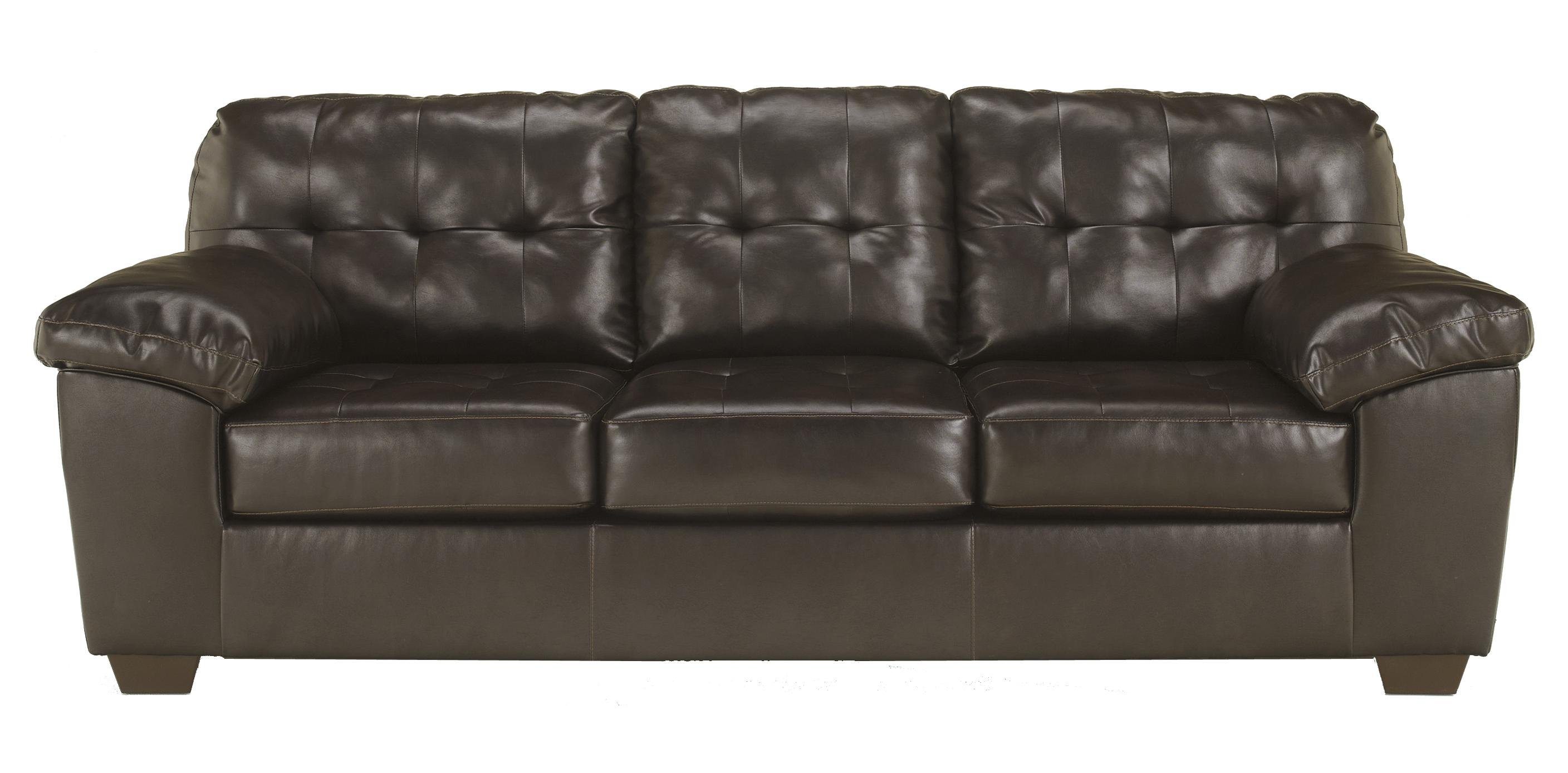 durablend sofa jean signature design by ashley alliston chocolate