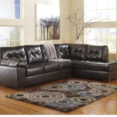 Durablend Sofa Transitional Style Sofas Signature Design By Ashley Alliston Chocolate