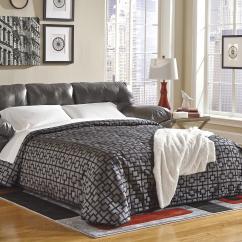 Ashley Furniture Durablend Sleeper Sofa High Seat Sofas Signature Design Alliston Gray 2010239
