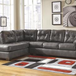 Sofa Sectional Ashley Durablend Wooden Sets For Living Room Signature Design By Alliston Gray