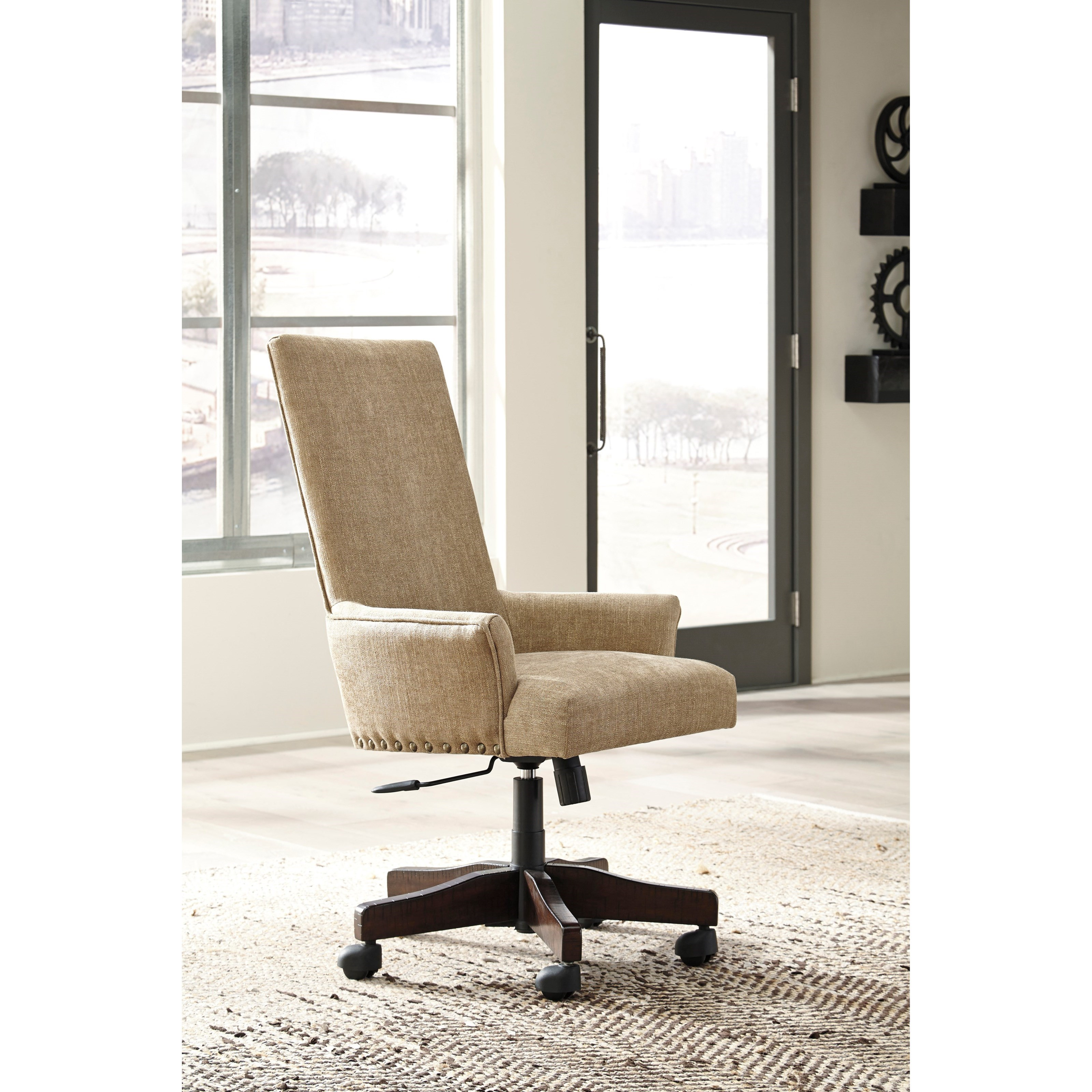 ashley furniture swivel chair office mat 36 x 48 signature design by baldridge contemporary