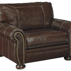 Chair And A Half Leather Recliner Chairs For Bedroom Signature Design By Ashley Banner 5040423 Traditional