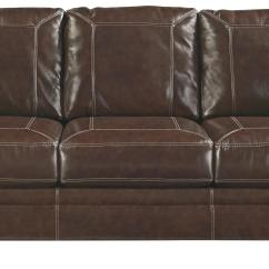 Leather Nailhead Sofa Set Large Pillows For Sofas Signature Design By Ashley Banner 5040438 Traditional