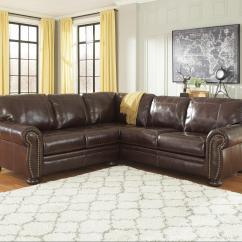Ashley Furniture Leather Sofa Marco Genuine Reclining Reviews Francesco 2 Piece Match Sectional With Rolled Arms