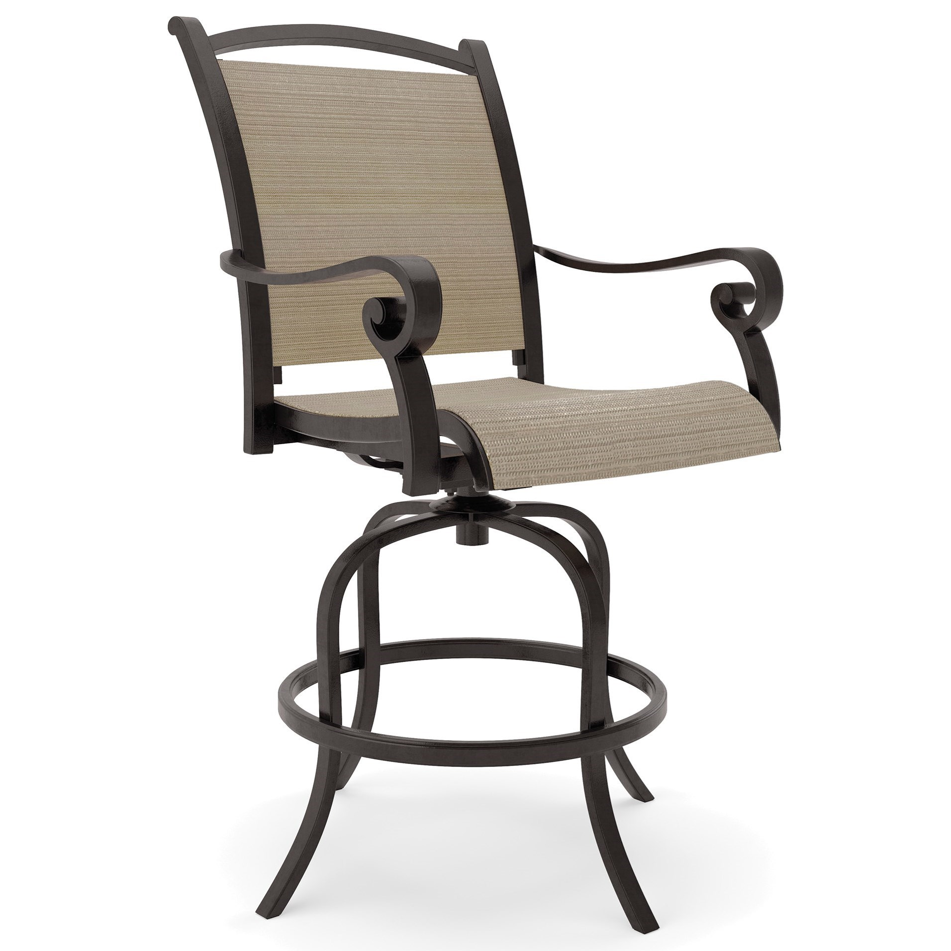 swivel chair nebraska furniture mart xkcd office ashley signature design bass lake p317 130 set of 2