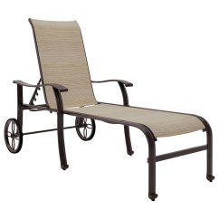 Outdoor Chaise Lounge Chairs With Wheels Louis Xv Signature Design By Ashley Bass Lake Sling