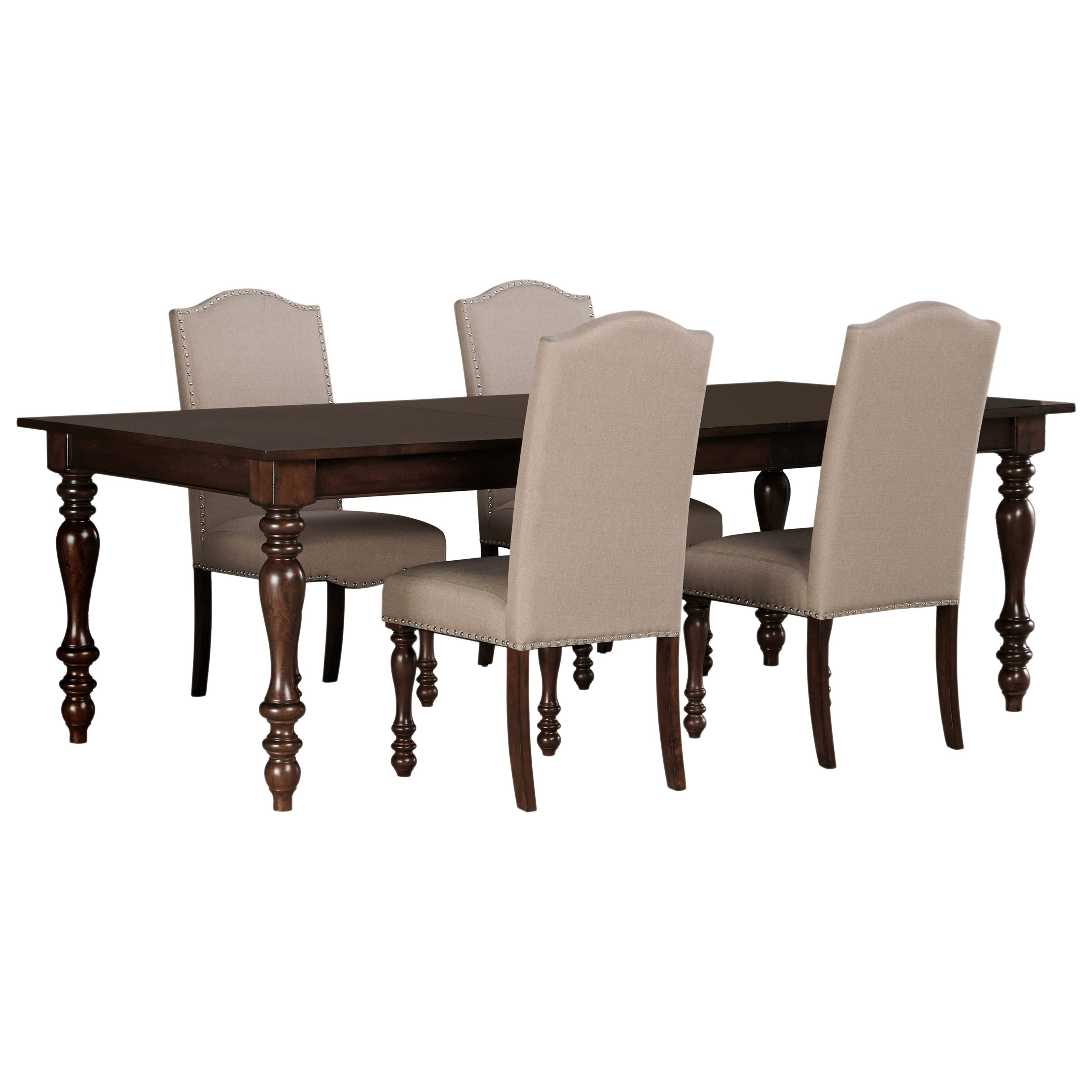 Ashley Dining Room Chairs Ashley Signature Design Baxenburg 5 Piece Dining Room