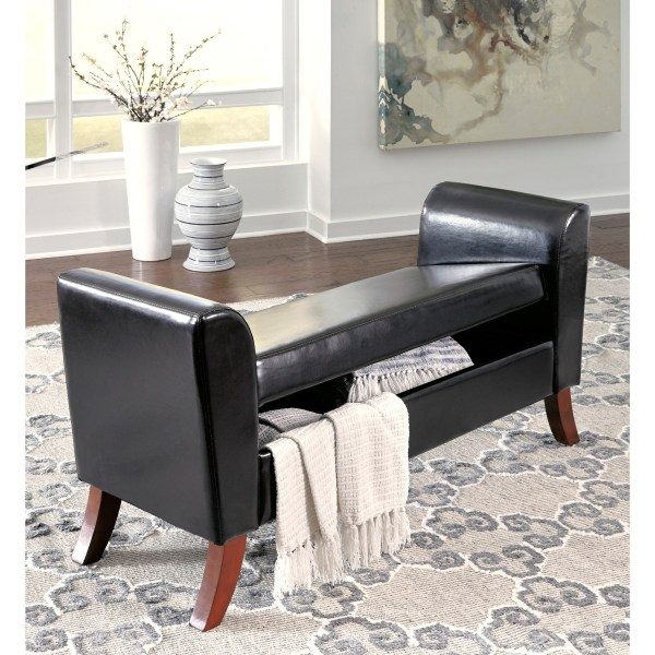 Signature Design by Ashley Benches B010-109 Upholstered ...