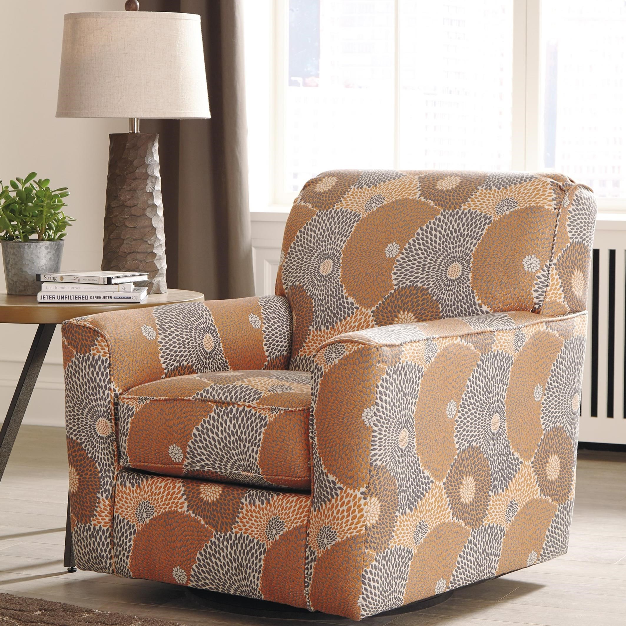 Swivel Accent Chair Benissa Contemporary Swivel Accent Chair Rotmans