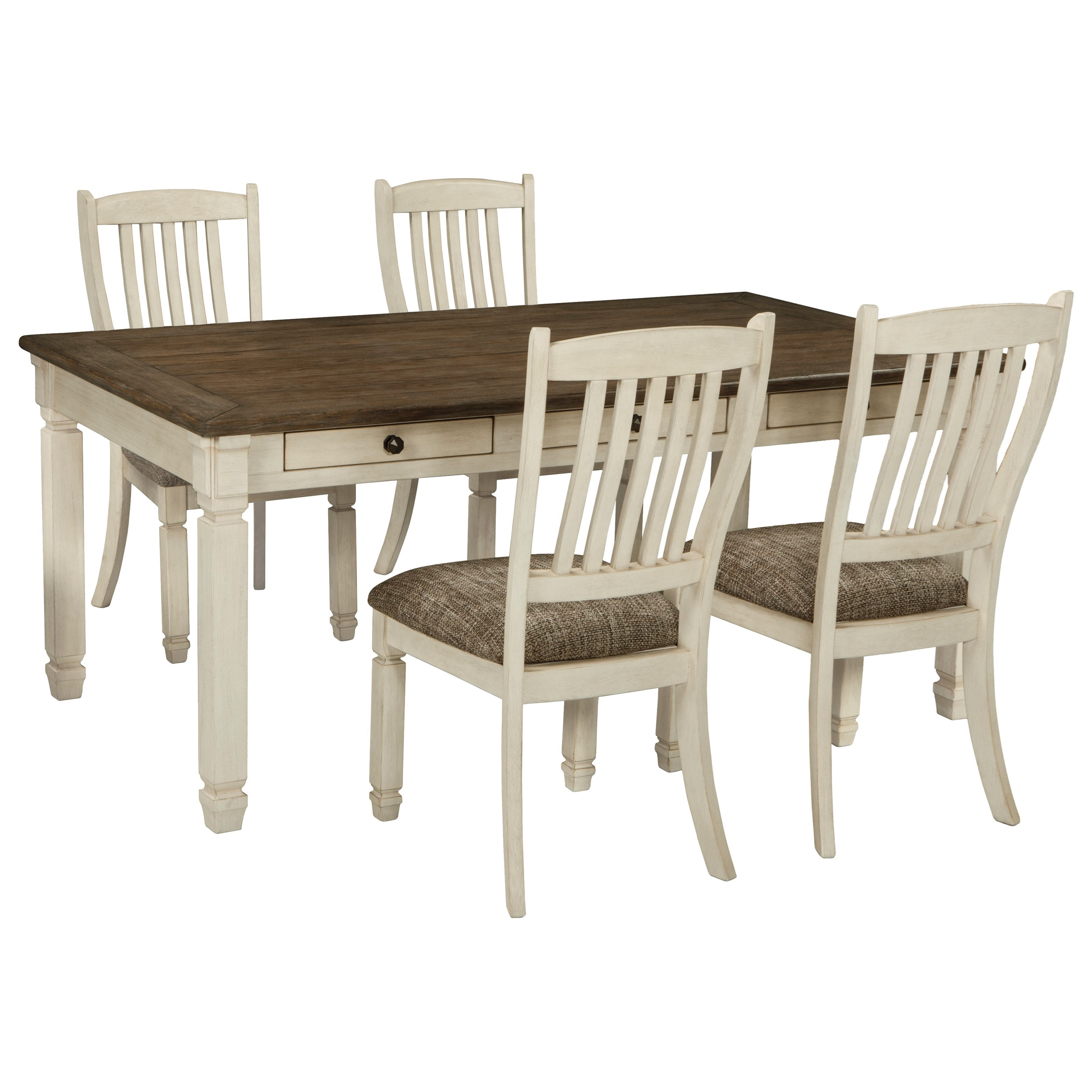 table chair set alps mountaineering king kong signature design by ashley bolanburg relaxed vintage 5