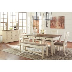 Ashley Furniture Dining Room Chairs Oak Rocking Chair Runners Signature Design By Bolanburg D647 60 Relaxed