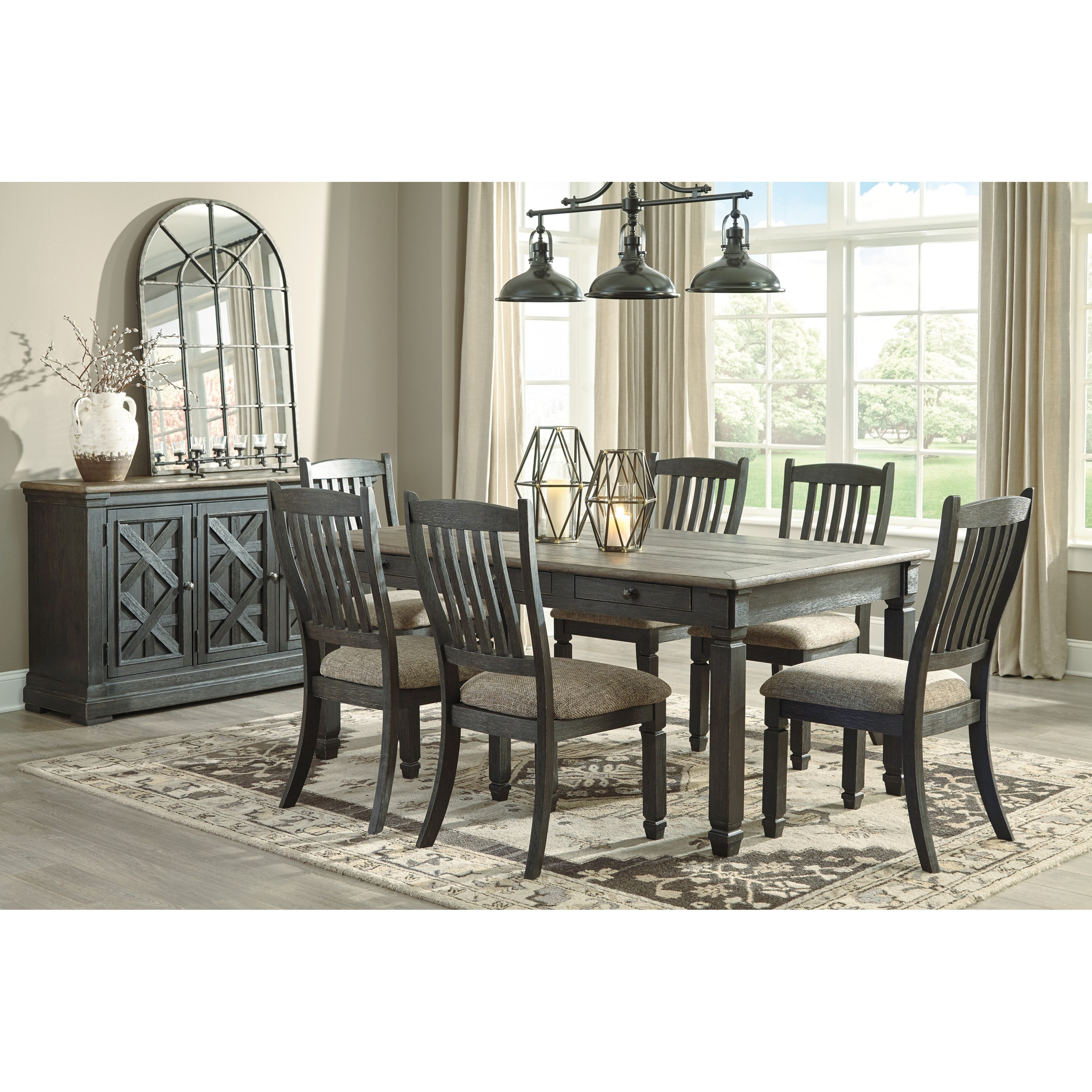 Ashley Dining Room Chairs Signature Design By Ashley Tyler Creek Casual Dining Room