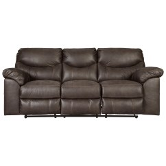 Sofa World Recliner Chairs Dark Brown Sectional Signature Design By Ashley Boxberg 3380388 Casual