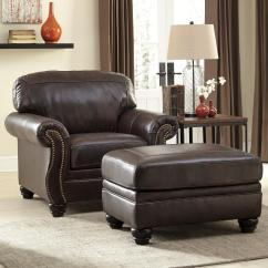 Ashley Chair And Ottoman Back Supports For Office Chairs Signature Design By Bristan Traditional