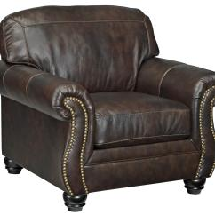 Nailhead Trim Sofa Ashley Corner Sectional Piece Signature Design By Bristan Traditional Leather