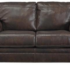 Leather Sleeper Sofa With Nailheads Bed And 2 In 1 Bristan Traditional Match Loveseat Rolled