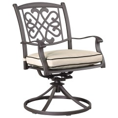 Swivel Chair Outdoor Eames Time Life Replica Signature Design By Ashley Burnella P456 602a Set Of 2