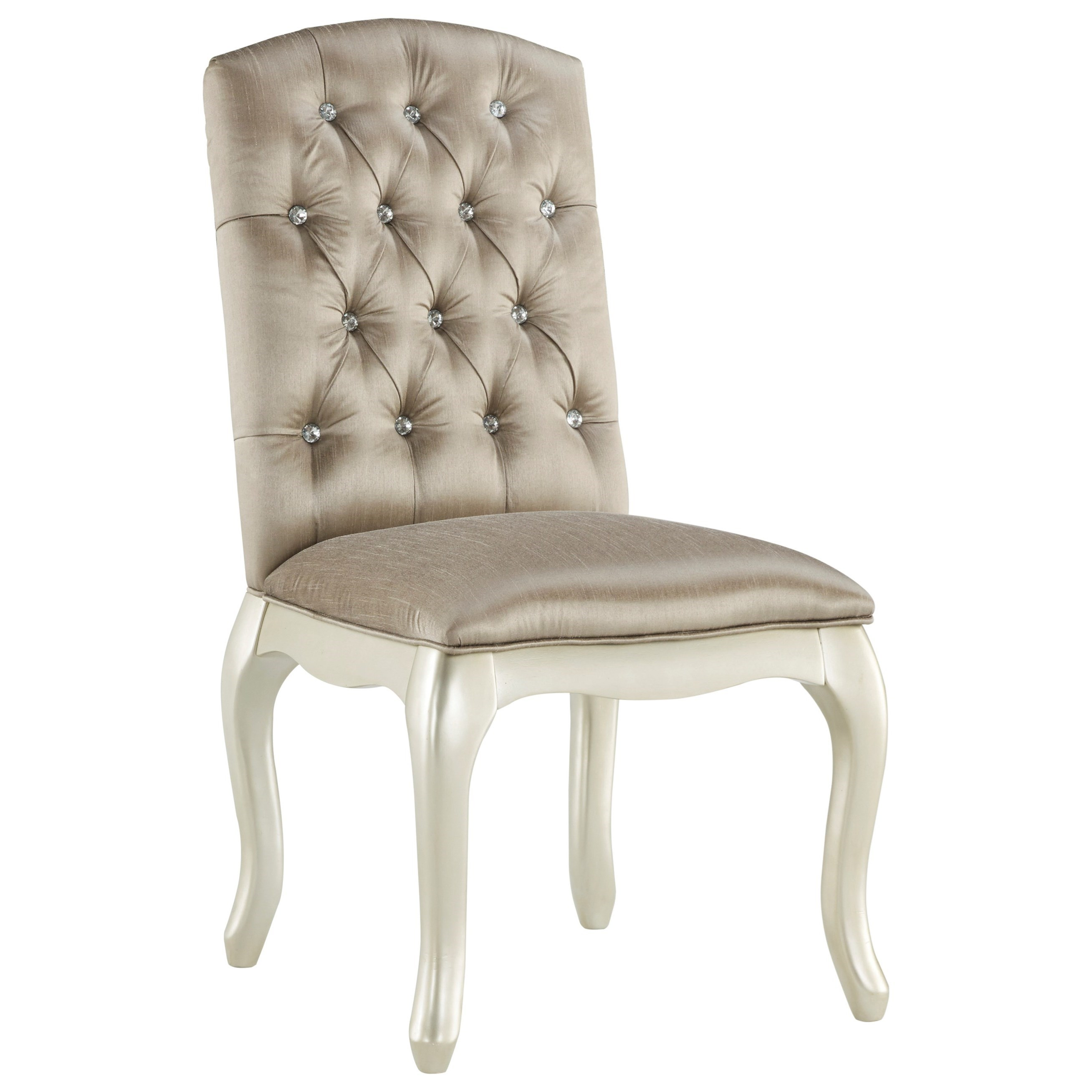 Upholstered Vanity Chair Signature Design By Ashley Cassimore Upholstered Chair