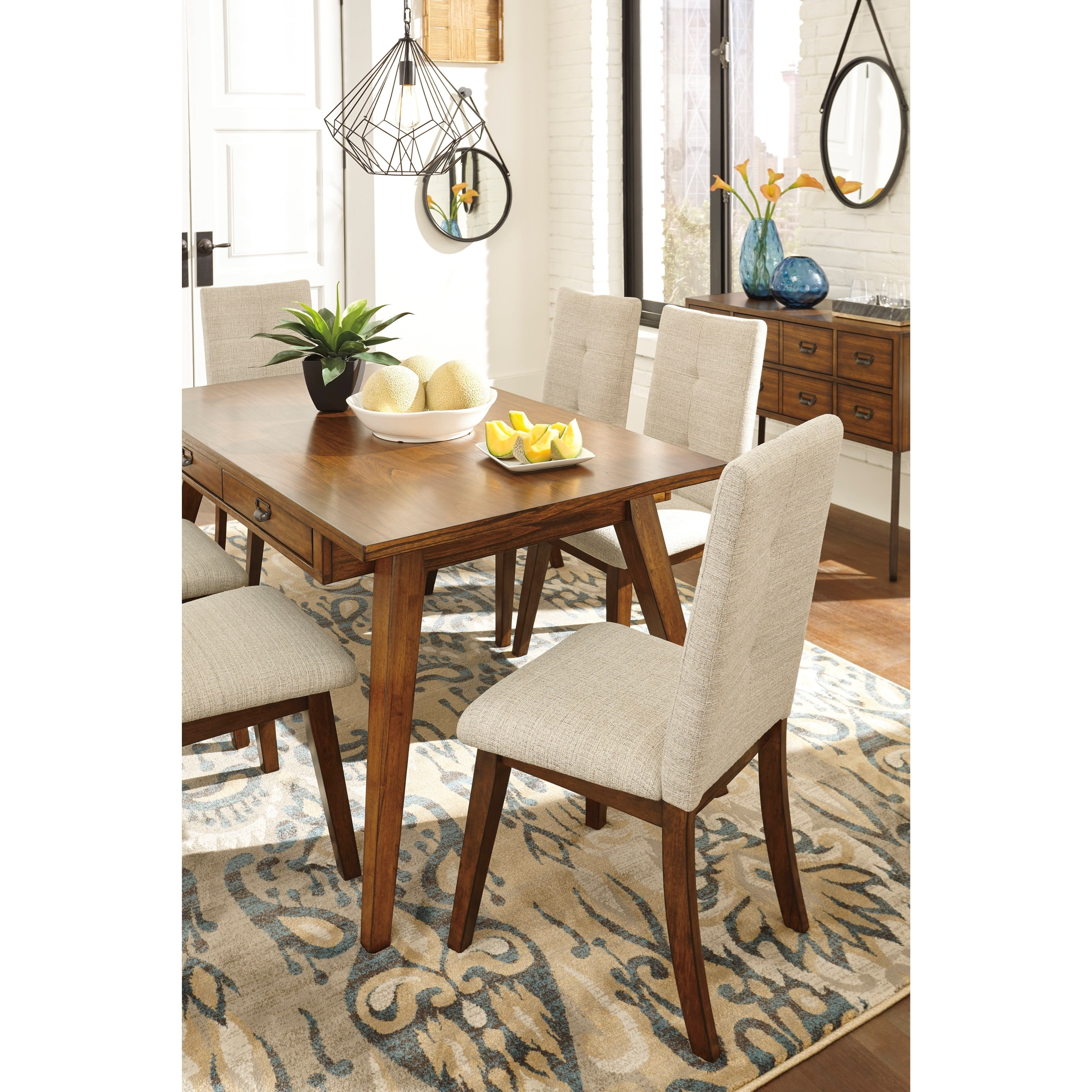 Ashley Dining Room Chairs Signature Design By Ashley Centiar Dining Upholstered Side