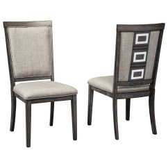 Ashley Furniture Dining Room Chairs Philippe Starck Chair Signature Design Chadoni D624 01 Contemporary