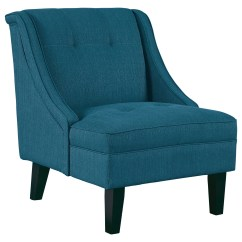 Bright Colored Accent Chairs Light Blue Chair Ashley Signature Design Clarinda 3623260 With