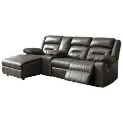 4 Piece Recliner Sectional Sofa 3 Covers Signature Design By Ashley Coahoma Four