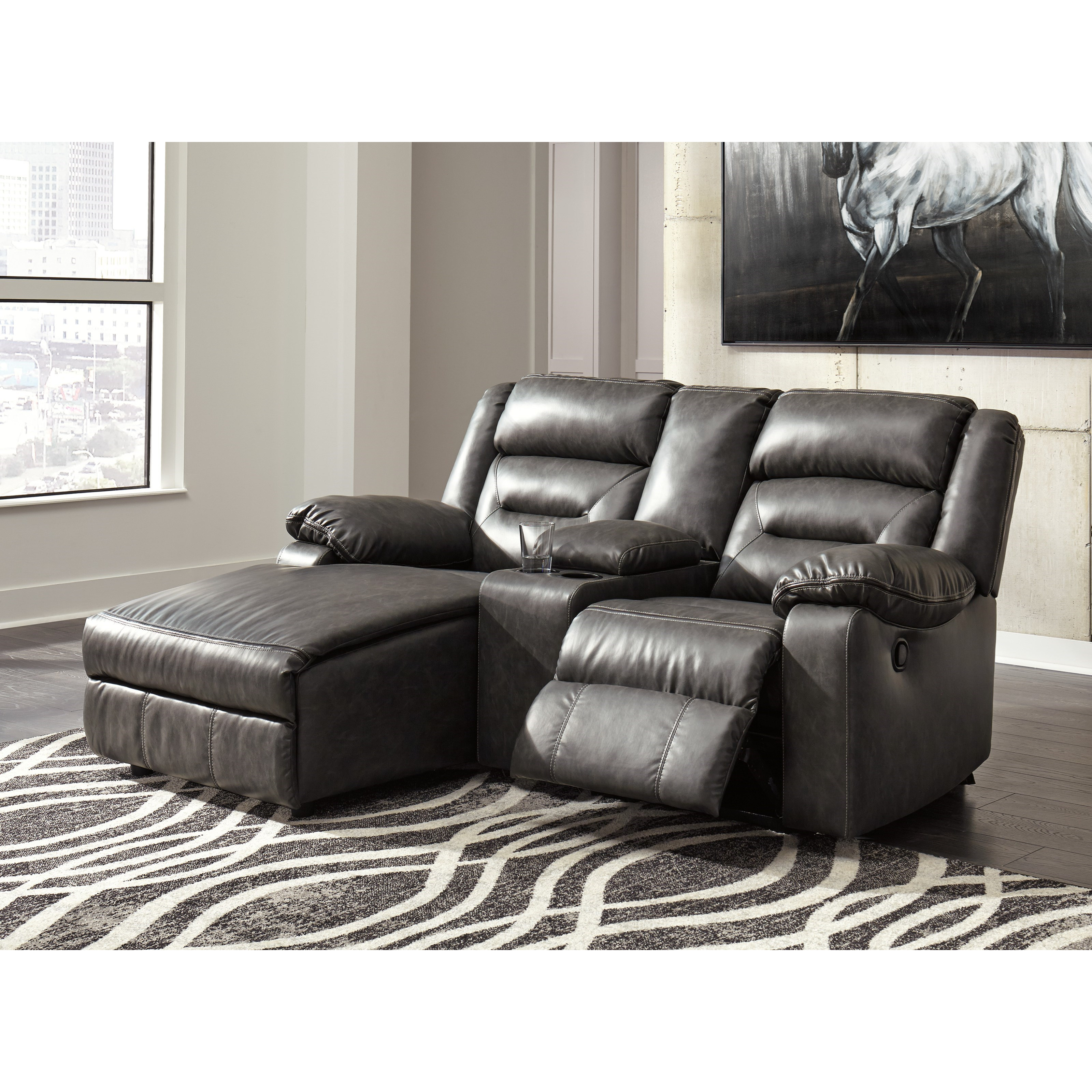 jamestown 2 piece sofa and loveseat group in gray plummers bed signature design by ashley coahoma three sectional