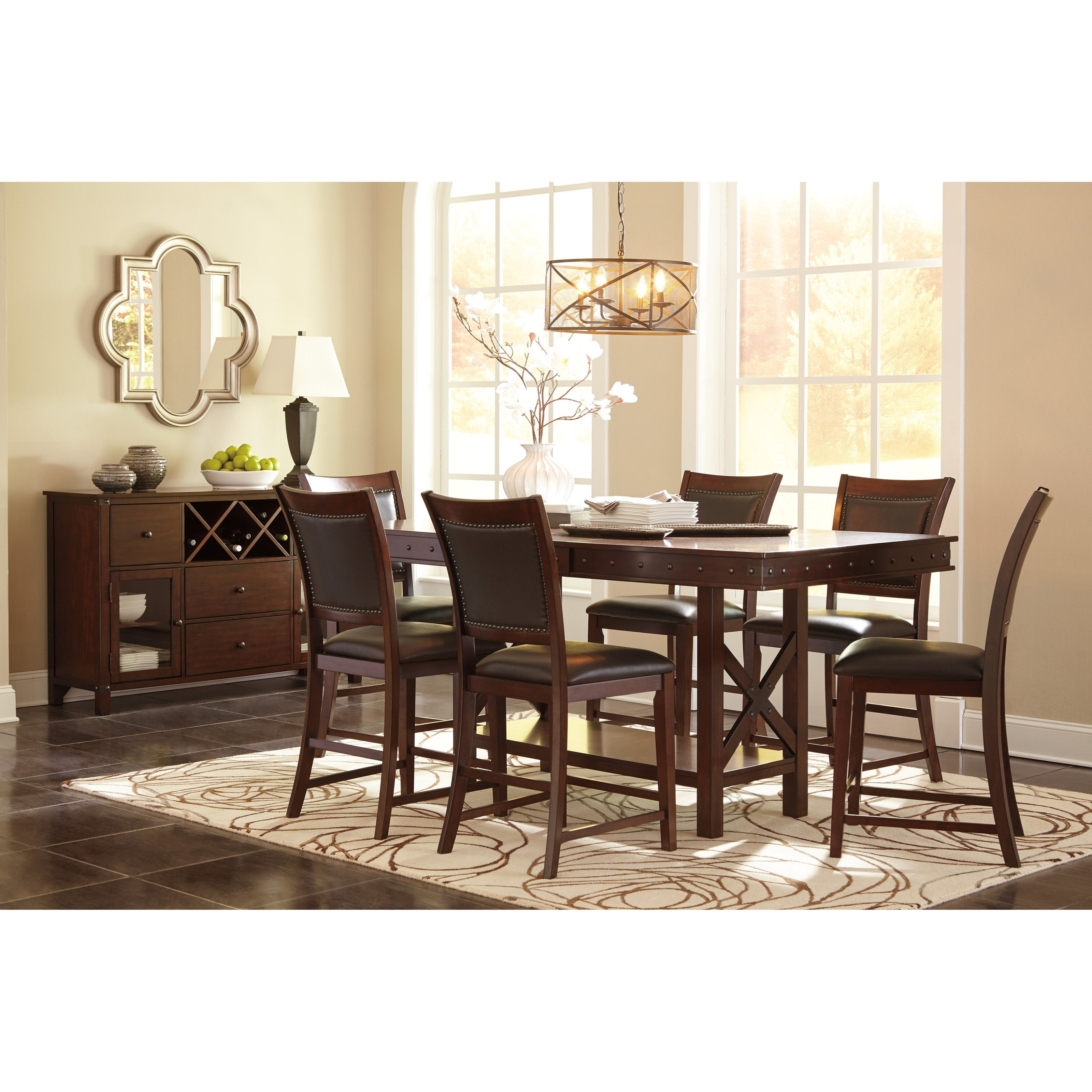 Ashley Dining Room Chairs Ashley Signature Design Collenburg D564 124 Upholstered