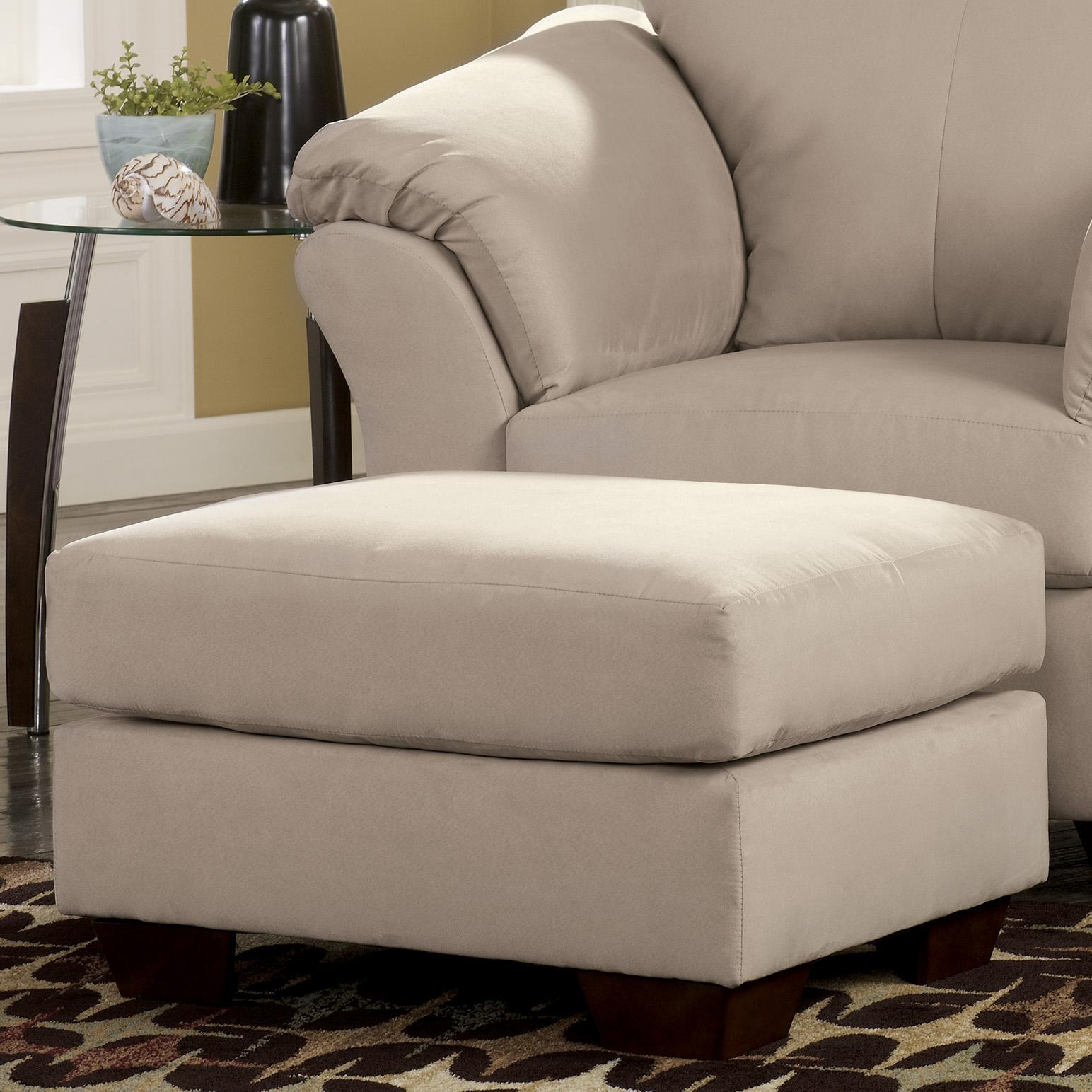 ashley chair and ottoman office lumbar support mesh signature design darcy stone 7500014 contemporary
